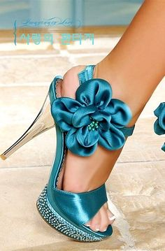 shoes / Turquoise Heels |2013 Fashion High Heels|