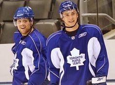 Kessel and Bozak Phil Kessel, Jonathan Toews, Toronto Maple Leafs, Chicago Blackhawks, Hockey, Adidas Jacket, Hot Guys, Google Search, Field Hockey