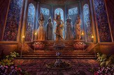 Godmother Room by RealNam.deviantart.com on @deviantART Dark Parable The Curse of Briar Rose