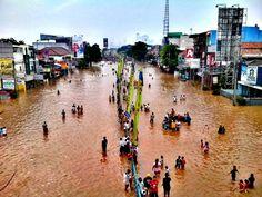 Jakarta flood 2013