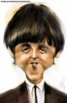 PAUL McCARTNEY by Abj-Crayon