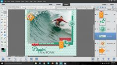 Turn a font into a sticker. Photoshop Elements, Photoshop Tutorial, Pse, Digital Scrapbooking, Tuesday, Sticker, Tutorials, Blog, Decals