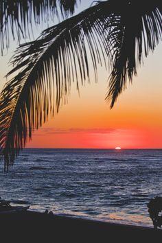 Sunset Beach, North Shore, Oahu...