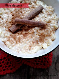 YUMMY & EASY PORTUGESSE RICE WITH MILK AND CINNAMON . CHECK ON www.gotowanirtokochanie.blogspot.com