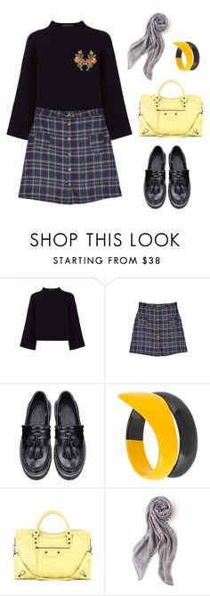 """""""Untitled #841"""" by shoylove ❤ liked on Polyvore featuring Jaeger, Tsumori Chisato, Balenciaga and Stella & Dot"""