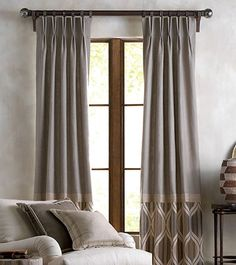 Need Help with Window Coverings? We specialize in custom Drapery Panels At our In-Home Consultation we come to your home to. Curtain Styles, Curtain Designs, Drapery Panels, Curtains With Blinds, House Without Windows, Diy Home Decor Rustic, House Blinds, Unique Flooring, Custom Drapes