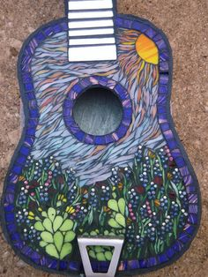 stained glass mosaic guitars | Recent Photos The Commons Getty Collection Galleries World Map App ...