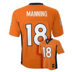 5bec5245b Look what I found on Denver Broncos Peyton Manning Jersey - Boys by  Outerstuff