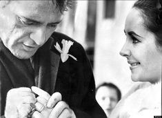 Elizabeth Taylor and Richard Burton before Brangelina and all of them. Oy Vey.
