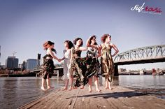 SubRosa Dance Collective enjoying the rare Portland sun.
