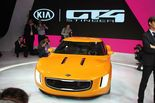 Kia Motors America revealed a 2+2 concept sports car at the 2014 North American International Auto Show (NAIAS) on Monday at Detroit's Cobo Center.