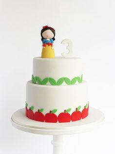 """CakeWrecks - By Peace Of Cake """"I want, nay, need that Snow White figurine in my life."""""""