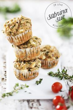 ... breakfast spinach feta cheese muffins ...