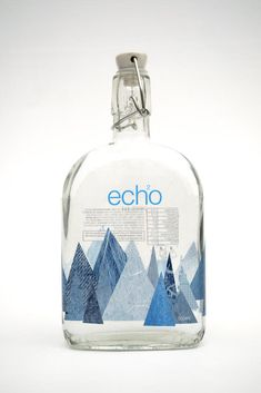product design 15 Water Bottle Packaging Designs That stands out How An Ultrasonic Humidifier Works Water Packaging, Bottle Packaging, Pretty Packaging, Brand Packaging, Gift Packaging, Label Design, Branding Design, Package Design, Identity Branding