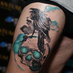 Tattoo studio gdansk Alex Konti