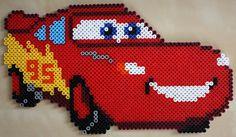 Lightning McQueen hama perler beads
