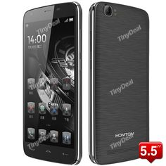 DOOGEE HOMTOM HT6 1.0GHz MTK6735P Android 5.1 4G LTE Gris smart Phone http://www.tinydeal.com/fr/doogee-homtom-ht6-55-mtk6735p-64-bit-quad-core-android-51-4g-phone-p-156364.html site officiel http://www.tinydeal.com/fr