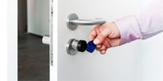 Ein Digitaler Schließzylinder oder elektronischer Zylinder ist schnell installiert und ist dank RFID Technologie als RFID Türschloss einfach zu bedienen. Oft findet sich diese Technik auch als Hotelschließssystem im Einsatz.