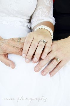 3 generation wedding bands. :)