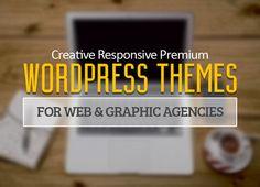 12 Creative Responsive Premium  WordPress Themes for Web and Graphic Agencies #Wpthemes #wordpressthemes2014