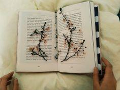 Eternal sakura in book