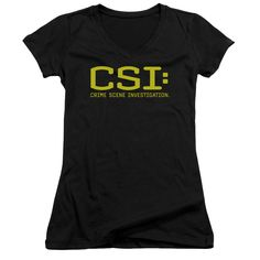 Now available in our store CSI/LOGO - JUNIOR V-NECK - BLACK - LG. Check it out here! http://everythinglicensed.com/products/cbs678-jv-3