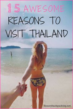 15 awesome reasons to visit Thailand right now! From the friendly locals to the stunning beaches and rainforests, there is something for everyone in Thailand!