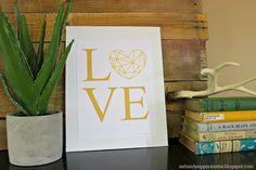 Salt and Pepper Moms: Geometric Valentine's Printable