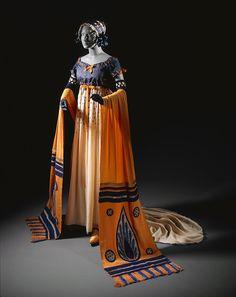 "1920 Erte' costume for ""Floria"" in La Tosca 5-act drama via LACMA Collections Online"