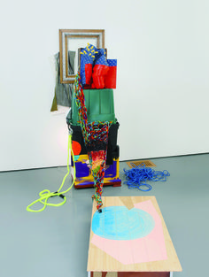 """Sculptural Collages"" at Museum Morsbroich by Jessica Stockholder"