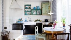 An Old, Simple, Rustic and Modern kitchen