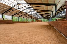 This picturesque horse property is located near the Carnation, Washington area. Here the round pen and riding arena steal the show. Horse Arena, Horse Stables, Horse Farms, Cascade Mountains, Horse Property, Barrel Horse, Dream Barn, Carnation, Around The Worlds