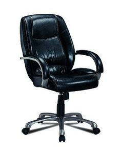 durable pvc home office chair. casual black office chair durable pvc home