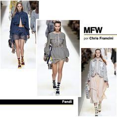Resumo Semana De Moda De Milão Primavera/Verão 2017. Todas as novidades da passarela de marcas como: Gucci, Roberto Cavalli e Dolce & Gabbana.