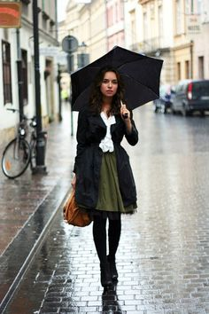 20 Creative Rainy Day Outfits You'll Love