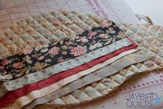 Great idea. I would have used this method recently had I known this. Quilt Binding Basics - Part 3 (Scrappy Bias Binding How-to) | Jaybird Quilts