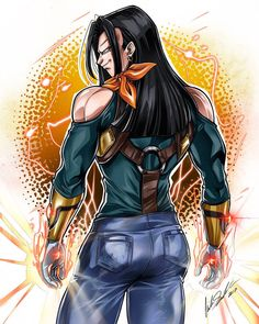 Super Android 17 by on DeviantArt Dragon Ball Gt, Super Saiyan 4 Goku, Super Android, Goku And Gohan, Dbz Characters, Z Arts, Marvel, Anime Comics, Akira