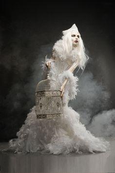 Dark Beauty Magazine Photographer: Elizaveta Smekh Wardrobe: Tornheim Studio Makeup/Model: Zhenya Merrick