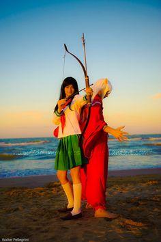 Inuyasha and Kagome cosplay