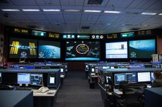 Space Station Flight Control Room by NASA: 2Explore, via Flickr