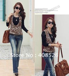 ANIMAL PRINT LAdies tops - Google Search