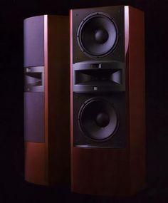 Pro Audio Speakers, Horn Speakers, Tower Speakers, Monitor Speakers, Hifi Stereo, Hifi Audio, Kenwood Audio, Speaker Box Design, Audio Design