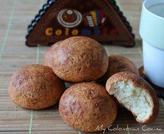 My Colombian Cocina - Almojábanas Colombian Food, Latin Food, Appetisers, Tex Mex, Sin Gluten, Muffin, Favorite Recipes, Snacks, Meals