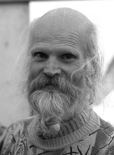 I met Aad at Noordmarkt, an organic farmer's market in Amsterdam. We were standing in line next to each other at an herb stand and I was secretly admiring his knotted beard. We began talking and Aad agreed to let me take his picture. Aad lives in Ams Yes, there is life after one reaches 50.