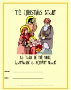 The Christmas Story as Told in The Bible ~ Copywork & Activity Book - St Aiden's Homeschool   History   For Little people   Parents, Family   Phonics   Themes, Seasonal & Holidays   Vocabulary & Grammar   Worksheets   Writing   Spelling   Printables   CurrClick
