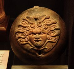 Alexandria, Egypt, library, Museum of Antiquities, medusa by groenling, via Flickr