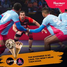 If they're loud, the #goodness will be louder. Go team U Mumba! #OneTeamOneZid