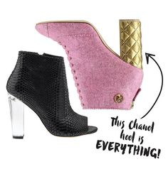 Chanel Block Heel Bootie Flamingos + Fringe Blog | BOOTIES FROM THE BLOCK