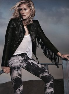 Replay - this has got to be my all time favourite biker's jacket from Replay. I wanted one just like this in my rock-chick days but never found one that looked this good! Love it!