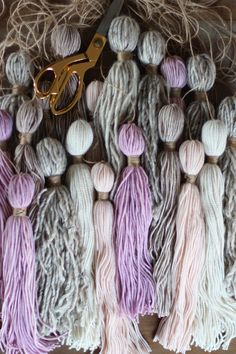 This incredible #DIY tassel wall hanging from @honestlywtf calls for very few supplies — and very little crafting skill. (It's practically the perfect project!)